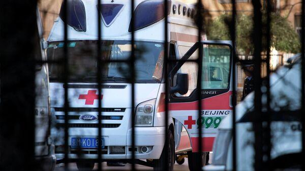 Ασθενοφόρο στην Κίνα - Sputnik Ελλάδα