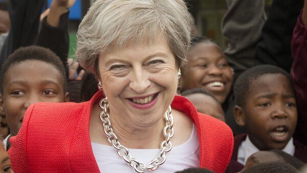 Η πρωθυπουργός της Βρετανίας Τερέζα Μέι - Sputnik Ελλάδα