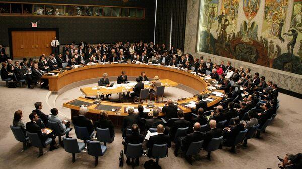 Συνεδρίαση του Συμβουλίου Ασφαλείας του ΟΗΕ.   - Sputnik Ελλάδα