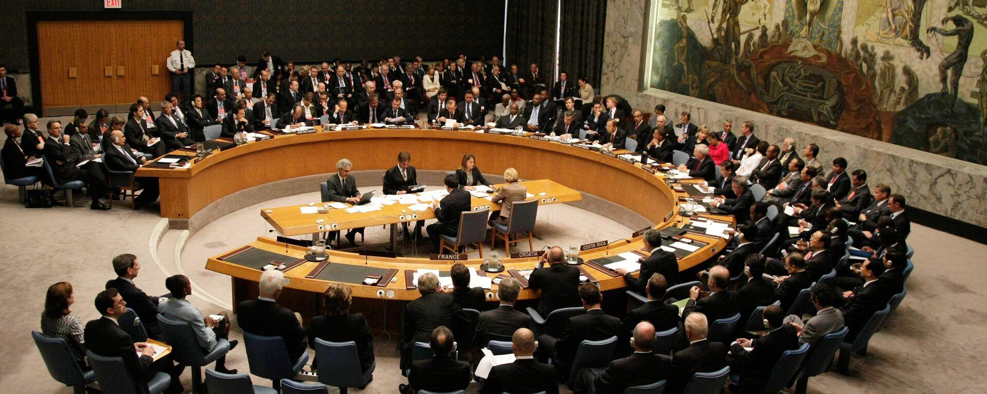 Συνεδρίαση του Συμβουλίου Ασφαλείας του ΟΗΕ.   - Sputnik Ελλάδα, 1920, 30.08.2021
