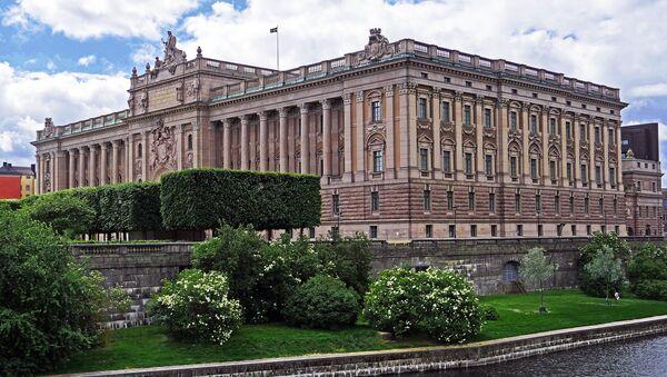 Το κτίριο του Κοινοβουλίου στη Σουηδία - Sputnik Ελλάδα