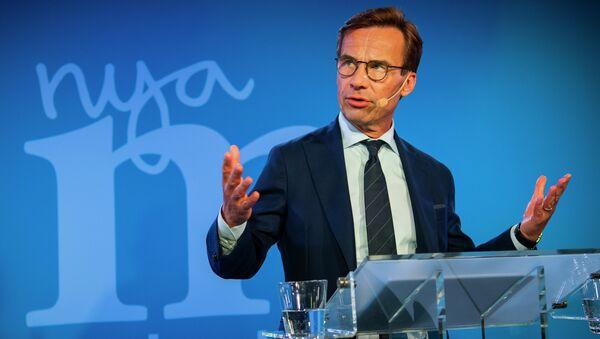 Ο ηγέτης της κεντροδεξιάς αντιπολίτευσης της Σουηδίας Ουλφ Κριστερσόν - Sputnik Ελλάδα