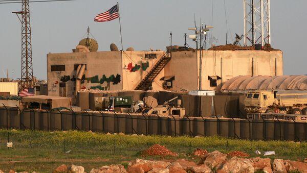 H αμερικανική βάση στο al-Asaliyah της Συρίας - Sputnik Ελλάδα