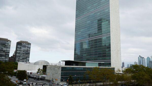 Τα γραφεία του ΟΗΕ στη Νέα Υόρκη - Sputnik Ελλάδα