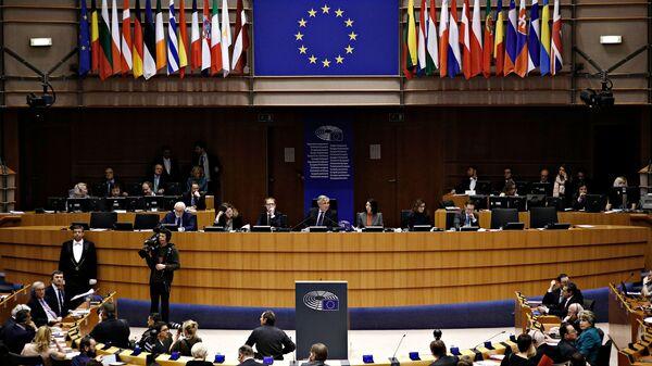 Ολομέλεια του Ευρωπαϊκού Κοινοβουλίου στο Στρασβούργο - Sputnik Ελλάδα