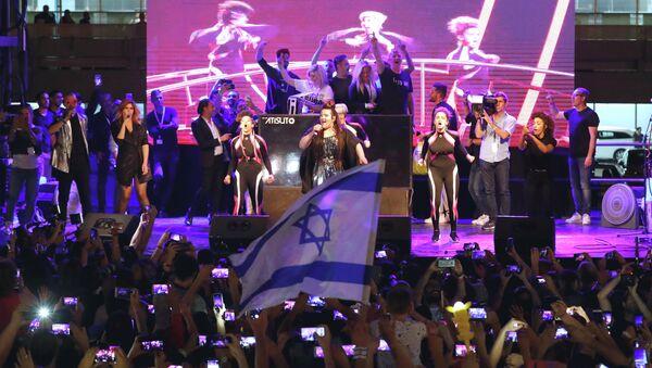 Η νικήτρια της Eurovision 2018, Νέτα Μπαρζιλάι - Sputnik Ελλάδα