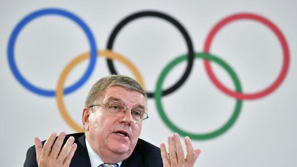 Ο πρόεδρος της Διεθνούς Ολυμπιακής Επιτροπής Τόμας Μπαχ - Sputnik Ελλάδα