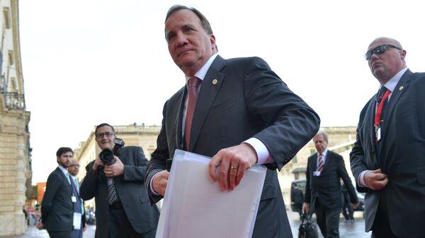Ο πρωθυπουργός της Σουηδίας, Στέφαν Λεβέν - Sputnik Ελλάδα