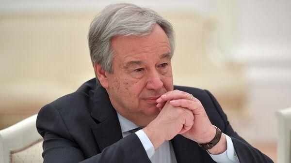 Ο γγ του ΟΗΕ, Αντόνιο Γκουτέρες. - Sputnik Ελλάδα